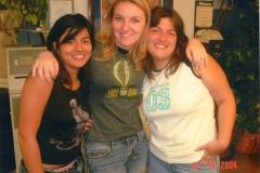 Daniela, Margherita, and Carmela, friends from Italy