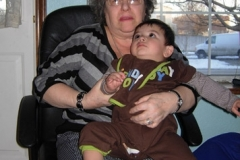 Great Grandma & Alonzo
