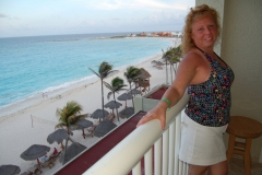Carmela in Cancun