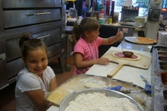 My Nieces Making Pizza
