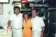 The founder of Original Pizza - Ralph, Carmela, Giuseppe