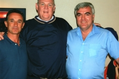Giovanni, coach Karl, and Raffaele
