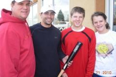 John Malkin, NY Yankee Kevin Russo, Matt, & Lindsey