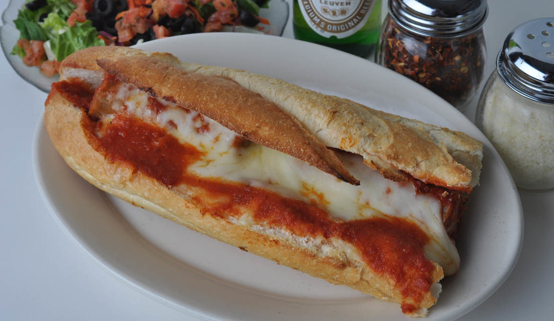 Italian Sausages Parmigiana Hero