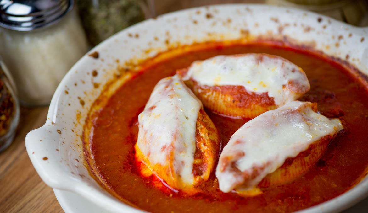 Homemade Stuffed Shells